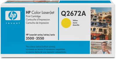 Картридж HP Color LaserJet Q2672A