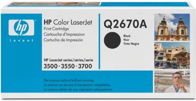 Картридж HP Color LaserJet Q2670A