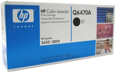 Картридж HP Color LaserJet Q6470A