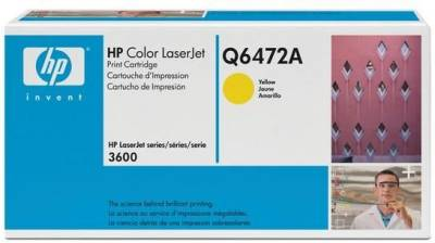 Картридж HP Color LaserJet Q6472A