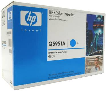 Картридж HP Color LaserJet Q5951A