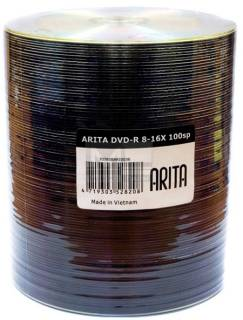 Диск ARITA DVD-R 4,7Gb 8-16x Bulk 100 pcs 5898307