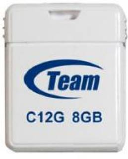 Флеш-память USB Team USB 8Gb C12G White TC12G8GW01