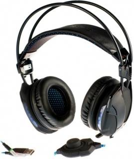 Наушники E-BLUE Cobra HS 2 professional gaming headset EHS014BK