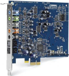 Creative PCI-E X-FI XTR AUDIO BULK 30SB104200000