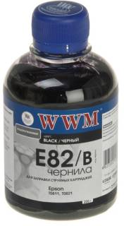 Чернила WWM EPSON Stylus Photo R270/R390/R1400 Black E82B