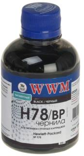 Чернила WWM HP CB316HE/321HE (Black Pigm) H78/BP