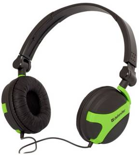 Наушники Defender MPH-793 Black/Green