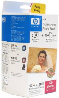 Картридж HP Professional Photo Pack 57+58 Q7954AE