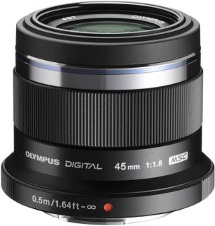 Объектив Olympus ET-M4518 45mm 1:1.8 Black V311030BE000
