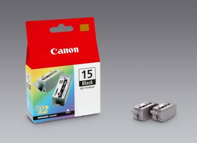Картридж Canon Twin Pack BCI-15Bk 8190A003