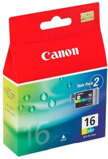 Картридж Canon Twin Pack BCI-16 Color 9818A003