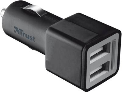 Trust Car charger with 2 USB ports - 2x12W 19171