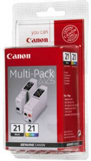 Картридж Canon MultiPack BCI-21Bk/Color 0954A379