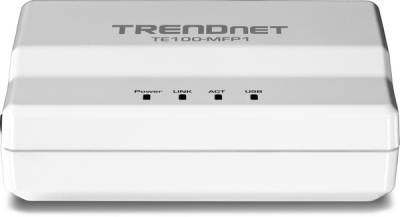 TRENDNET TE100-MFP1 1-Port Multi-Function Print Server