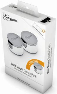 Vogels RingO TMM 106 Wall Mount Double Pack Black