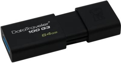 Флеш-память USB Kingston DataTraveler 100 G3 64GB USB 3.0 DT100G3/64GB