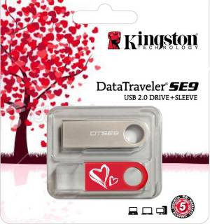 Флеш-память USB Kingston DTSE9 32GB Valentines Day KC-U4632-2U2