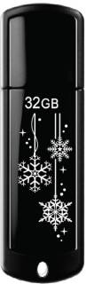 Флеш-память USB Transcend JetFlash 350 Black Limited Edition TS32GJF350-RU