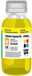 Чернила ColorWay Epson UV SX130/430 200мл Yellow EU430Y
