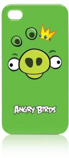 Gear4 iPhone 4S Angry Birds - green pig ICAB403G