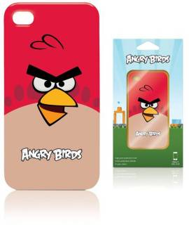 Gear4 iPhone 4S Angry Birds - red bird ICAB401G