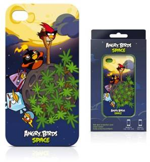Gear4 Чехол для iPhone 4S Angry Birds Space ST-Family ICAS406G