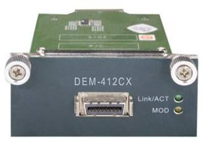 D-link DEM-412CX 10Gig stacking