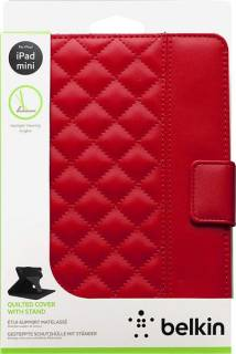 Belkin Quilted Cover Stand Red F7N040vfC02