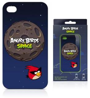 Gear4 Чехол для iPhone 4S Angry Birds Space ST-Flight ICAS409G