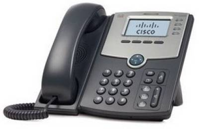 CiscoSB Gigabit 4-Line IP Phone with 2-Port GE Switch and LCD Display SPA514G