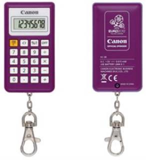Canon KC-30-PP 8 digit EURO 2012 logo purple 2291B043