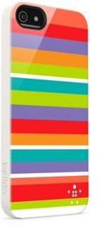 Belkin Чехол iPhone 5 Shield Stripe multicolor F8W124vfC00
