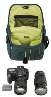 Crumpler Jackpack 3000 (petrol / green yellow) JP3000-003