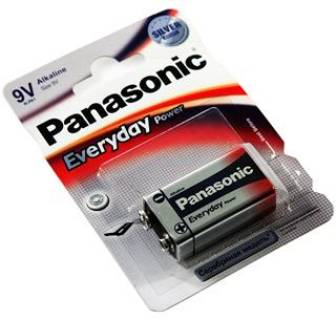 Батарейка Panasonic EVERYDAY POWER 6LR61 BLI 1 ALKALINE 6LR61REE/1BR