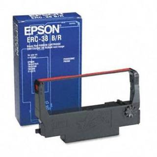 Картридж Epson ERC-38 Black/ Red Ribbon Cassette C43S015376