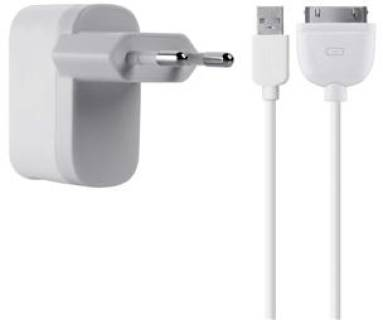 Belkin USB MicroCharger (220V + iPhone/ iPod сable, USB 1Amp) F8Z884cw04