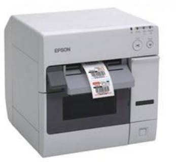 Принтер Epson TM-C3400 NiceLabel USB I/F Incl.PC (White) C31CA26012CD