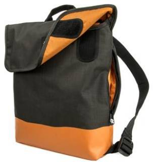 Crumpler Private Surprise Backpack M (charcoal/orange) PSBP-M-004