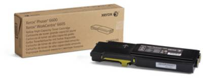 Картридж Xerox PH6600/ WC6605 Yellow (Max) 106R02235