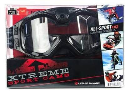 Liquid Image All Sport Video Goggle HD 720P Black 384BLK