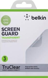 Belkin Защитная пленка HTC One Belkin Screen Overlay CLEAR 3in1 F8M578vf3