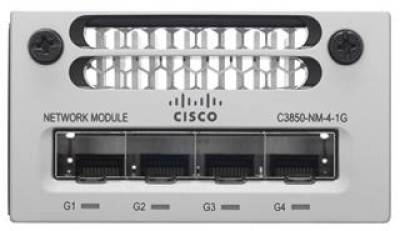 Cisco Catalyst 3850 4 x 1GE Network Module C3850-NM-4-1G