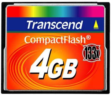 Карта памяти Transcend Ultra Speed TS4GCF133