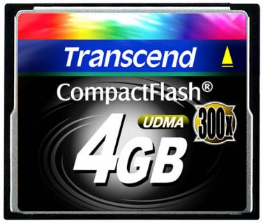 Карта памяти Transcend Extreme Speed TS4GCF300