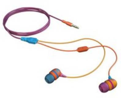 Наушники Aerial7 Headphones Sumo Graffiti, Pink Orange Blue