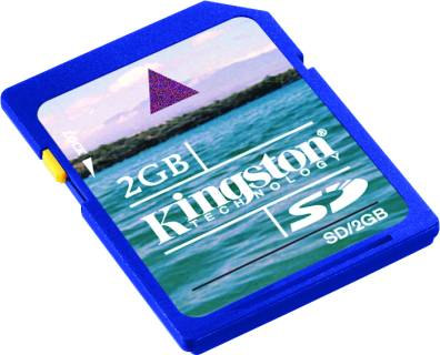 Карта памяти Kingston Standard SD/2GB-CS