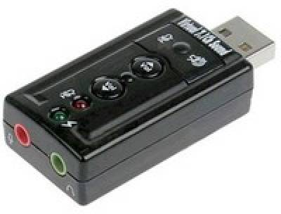 Dynamode USB-SOUNDCARD7 USB 2.0, 7.1 virtual surround