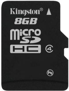 Карта памяти Kingston High-Capacity SDC4/8GBSP