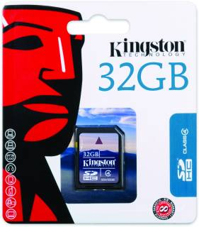 Карта памяти Kingston High-Capacity SD4/32GB